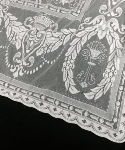 Wreath curtain Pattern
